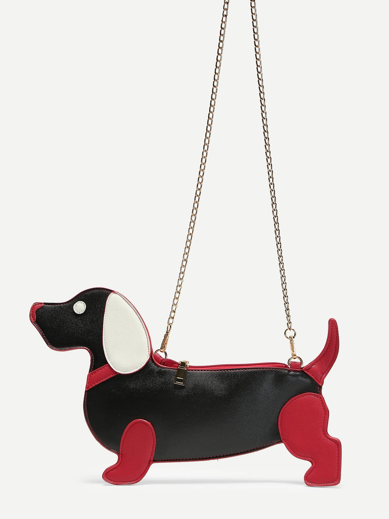 Animal Shaped Crossbody Chain Bag