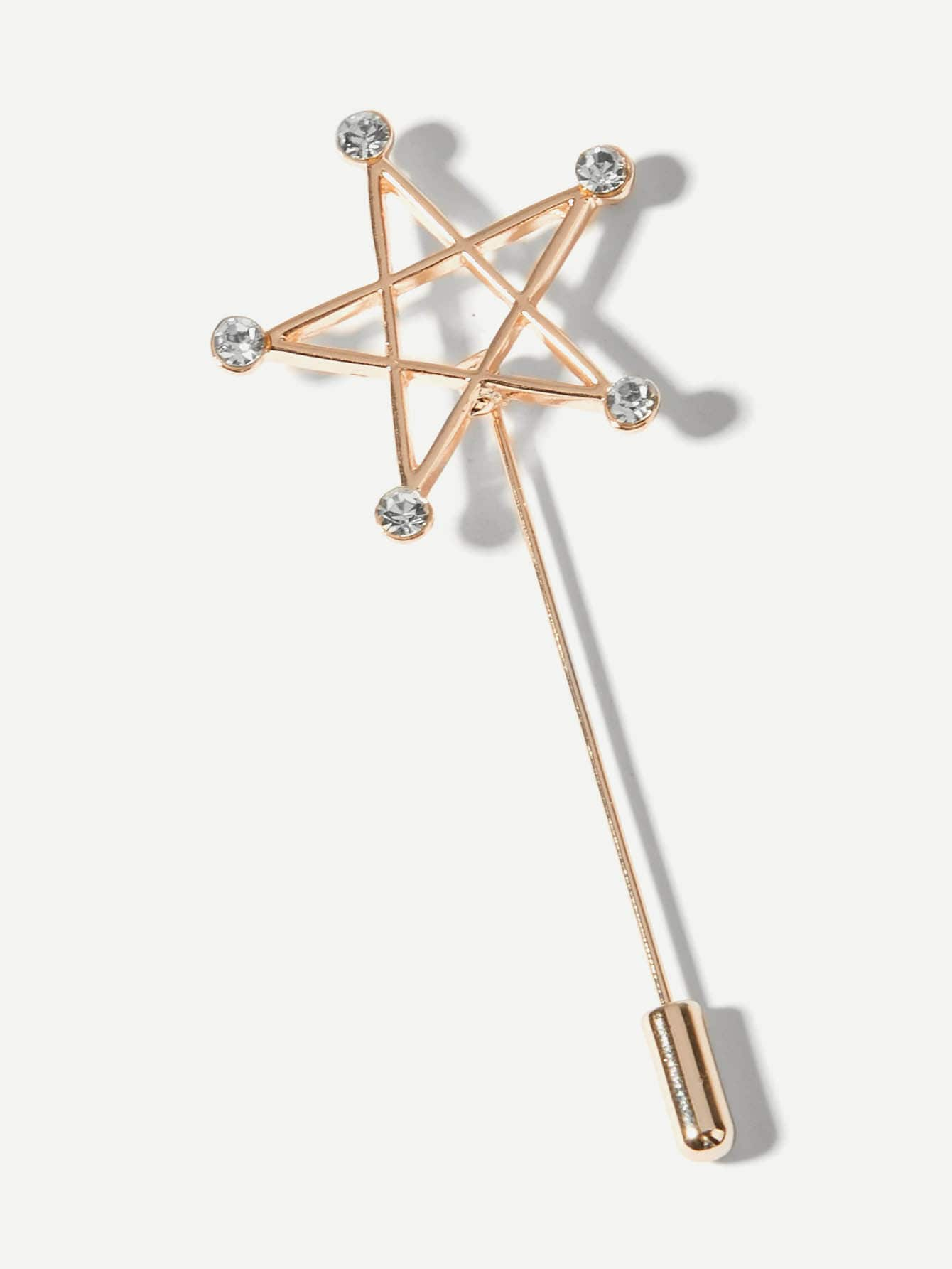 Купить Шпилька с украшением открытой звезды для мужчины, null, SheIn