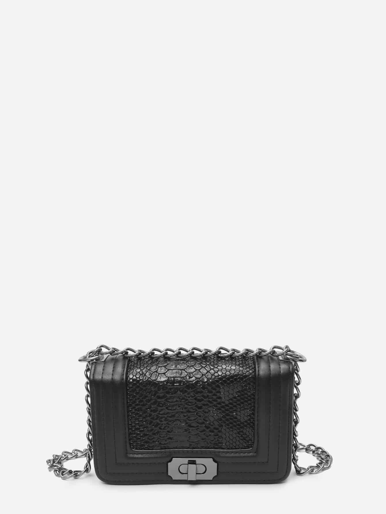 все цены на Crocodile Chain Bag онлайн