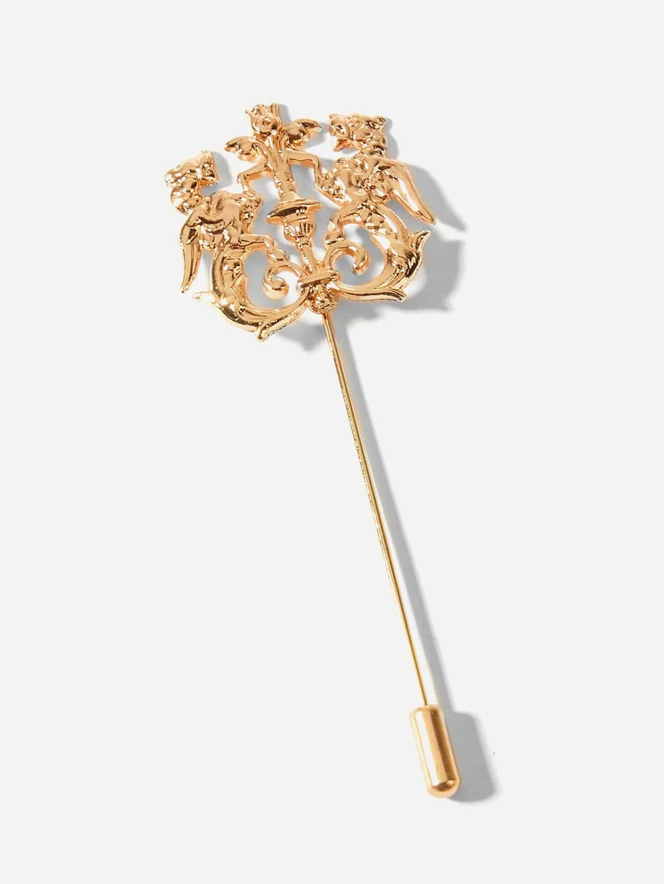Men Animal Decorated Pin