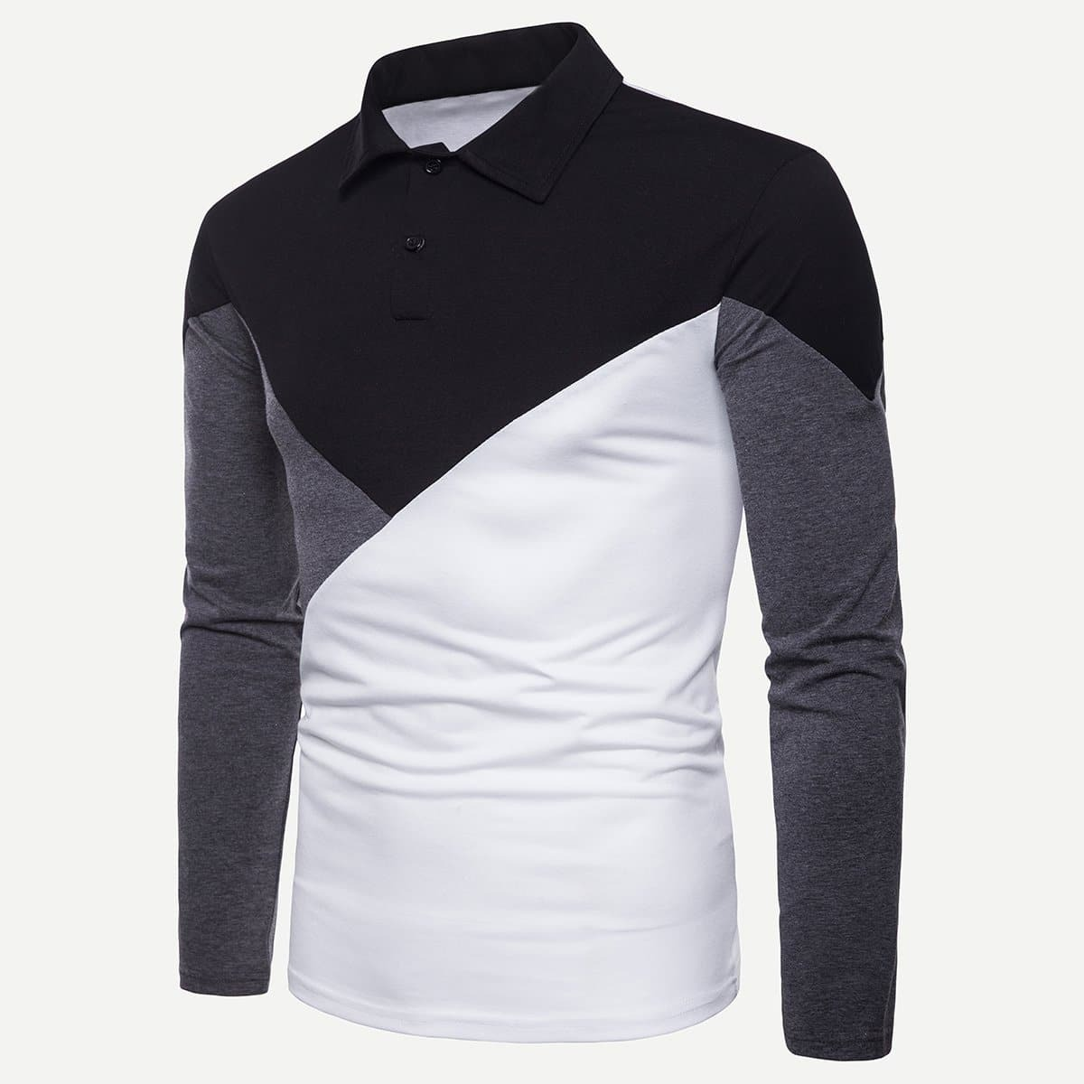 Polo shirt met verschillende kleuren
