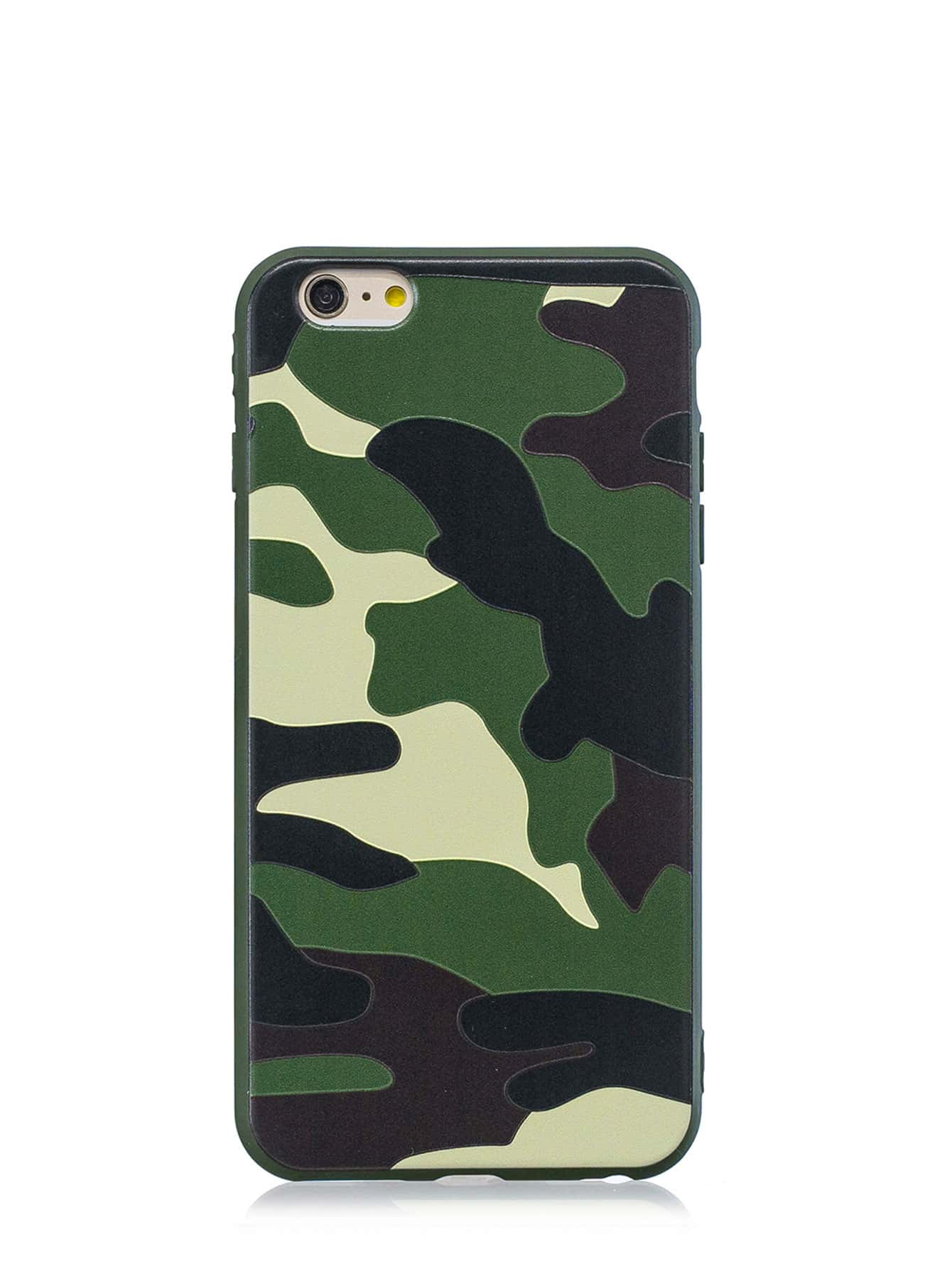 Camouflage Print iPhone Case
