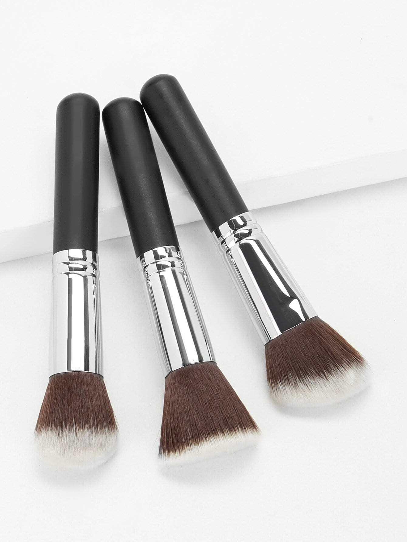 Кисти для макияжа 3шт., null, SheIn  - купить со скидкой