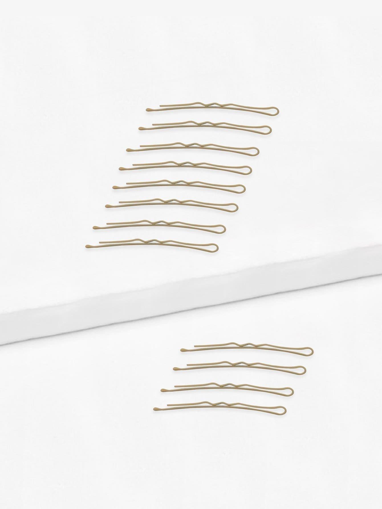 Plain Hairpin Set 24pcs