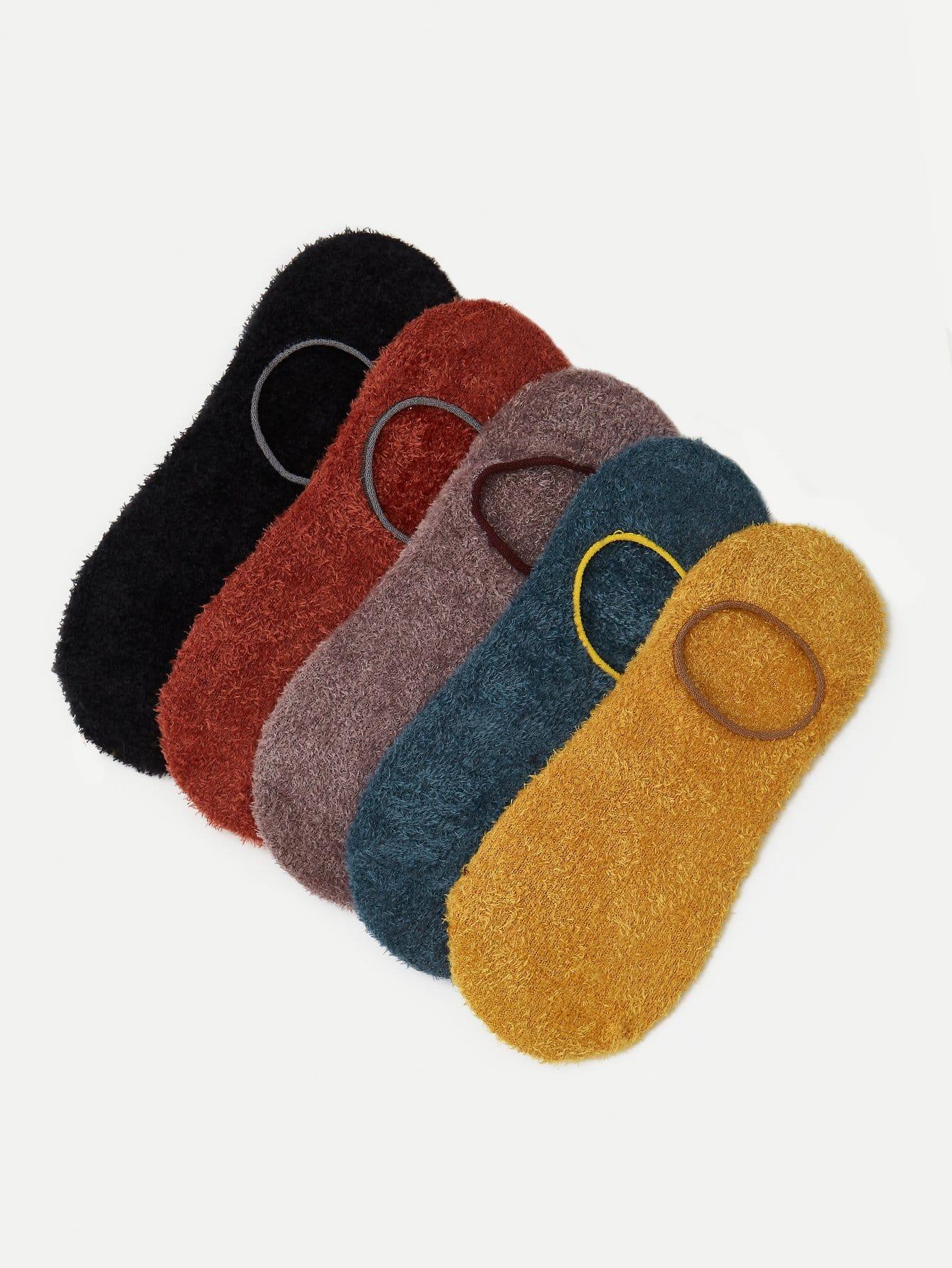 Unsichtbare Socken 5pairs