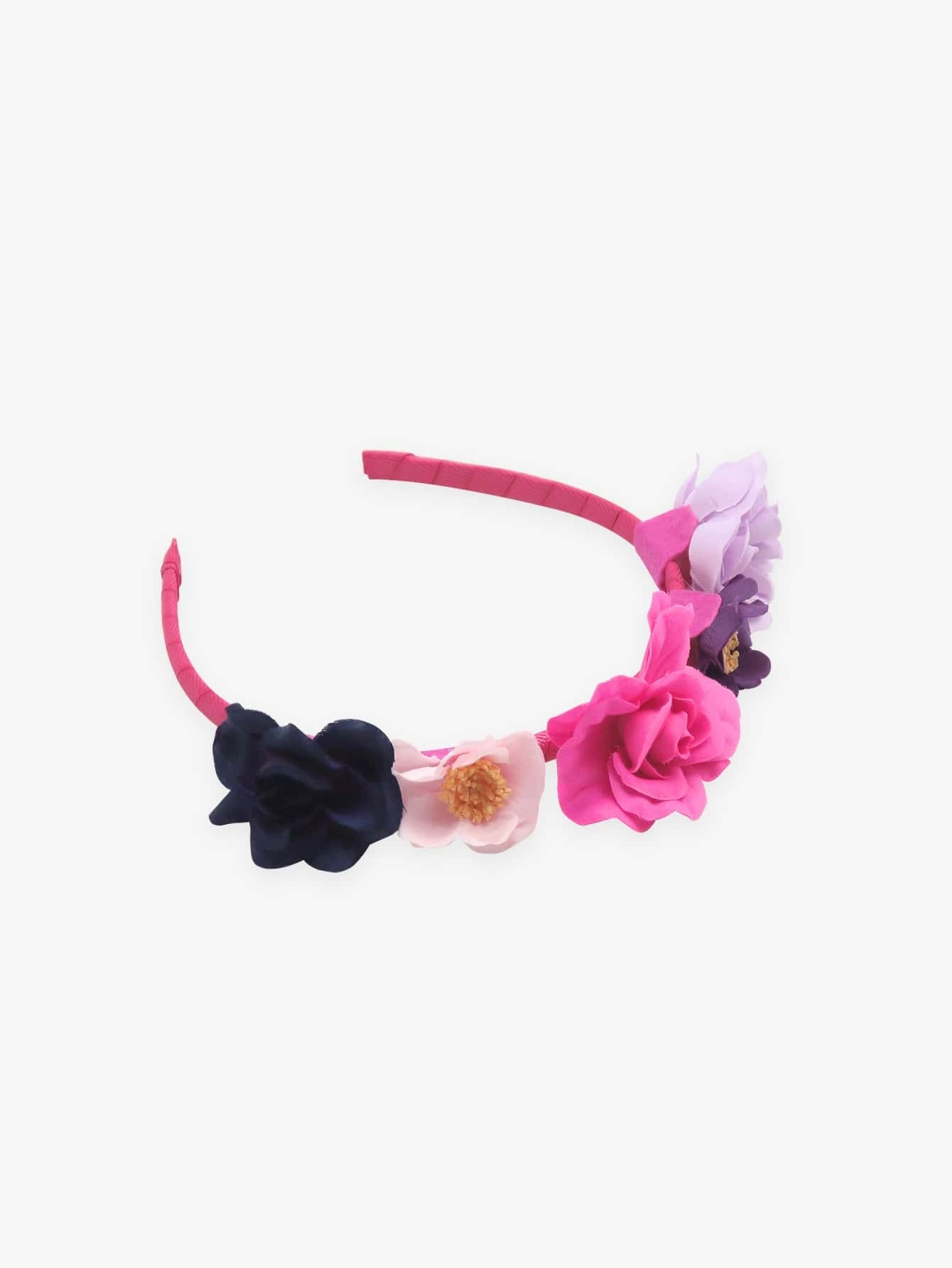 Купить Ободок для волос и с украшением цвета, null, SheIn