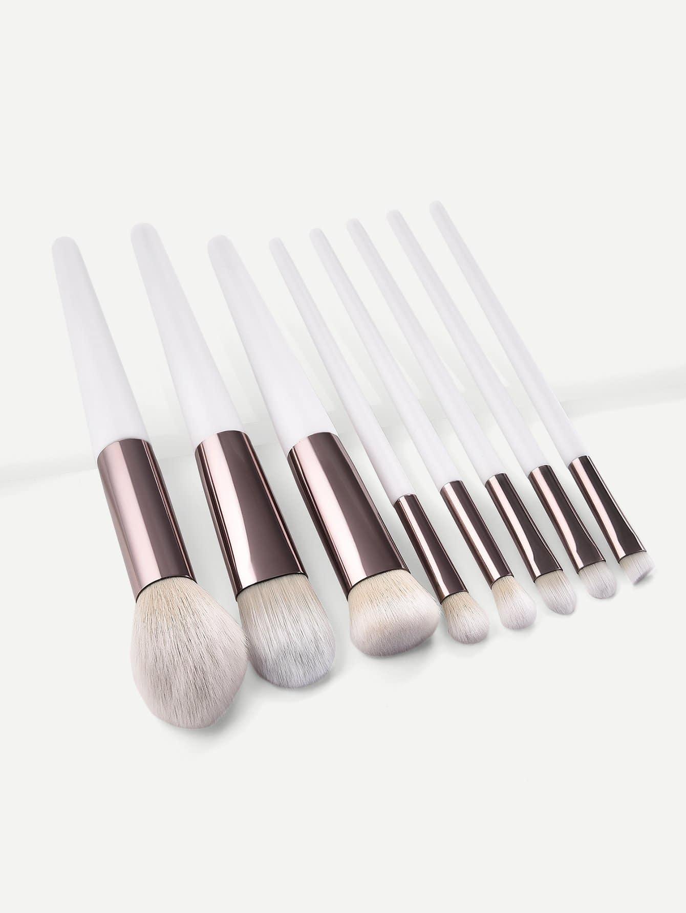 Two Tone Handle Makeup Brush 8pcs