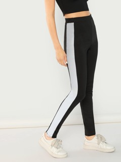 Reflective Side Stripe Legging