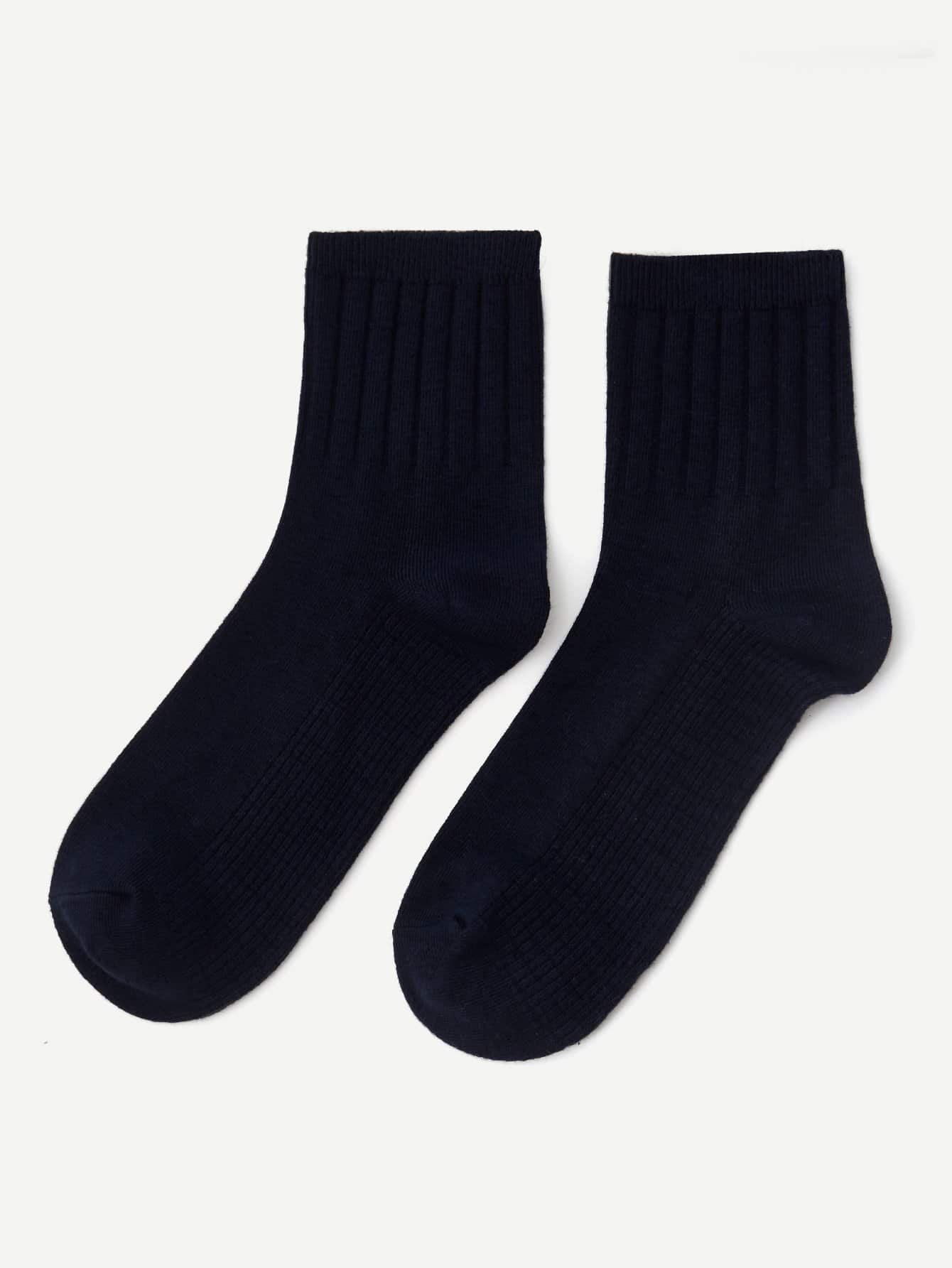 Купить 1 пара носки до лодыжки для мужчин, null, SheIn