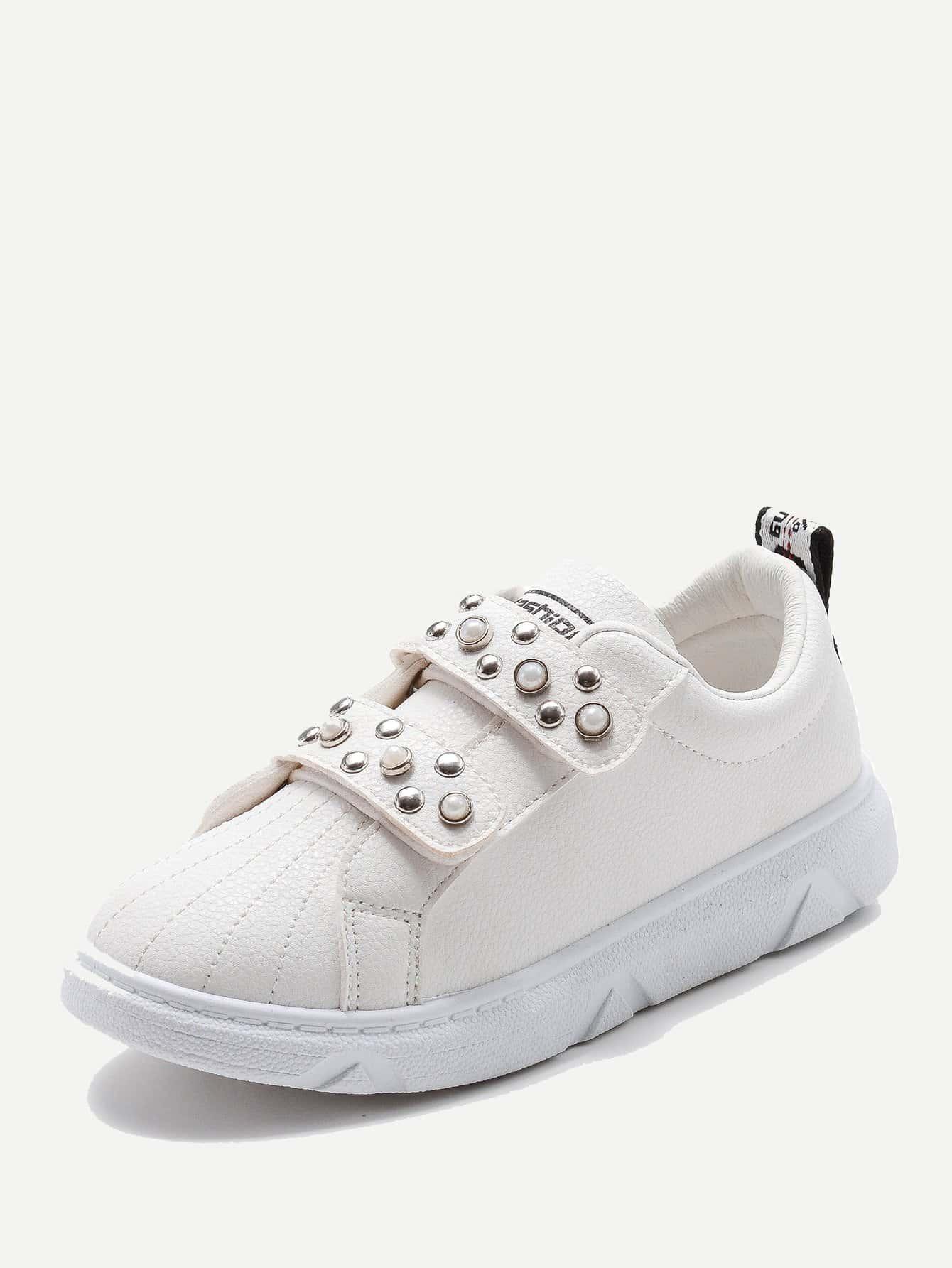 Купить Спортивные туфли с украшением искусственных жемчугов для детей, null, SheIn