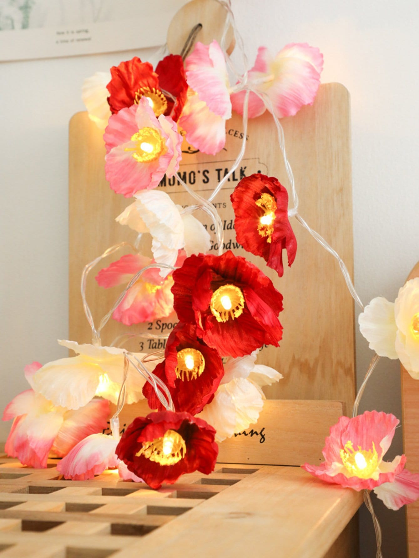 1.5M Flower Bulb String Light 12V