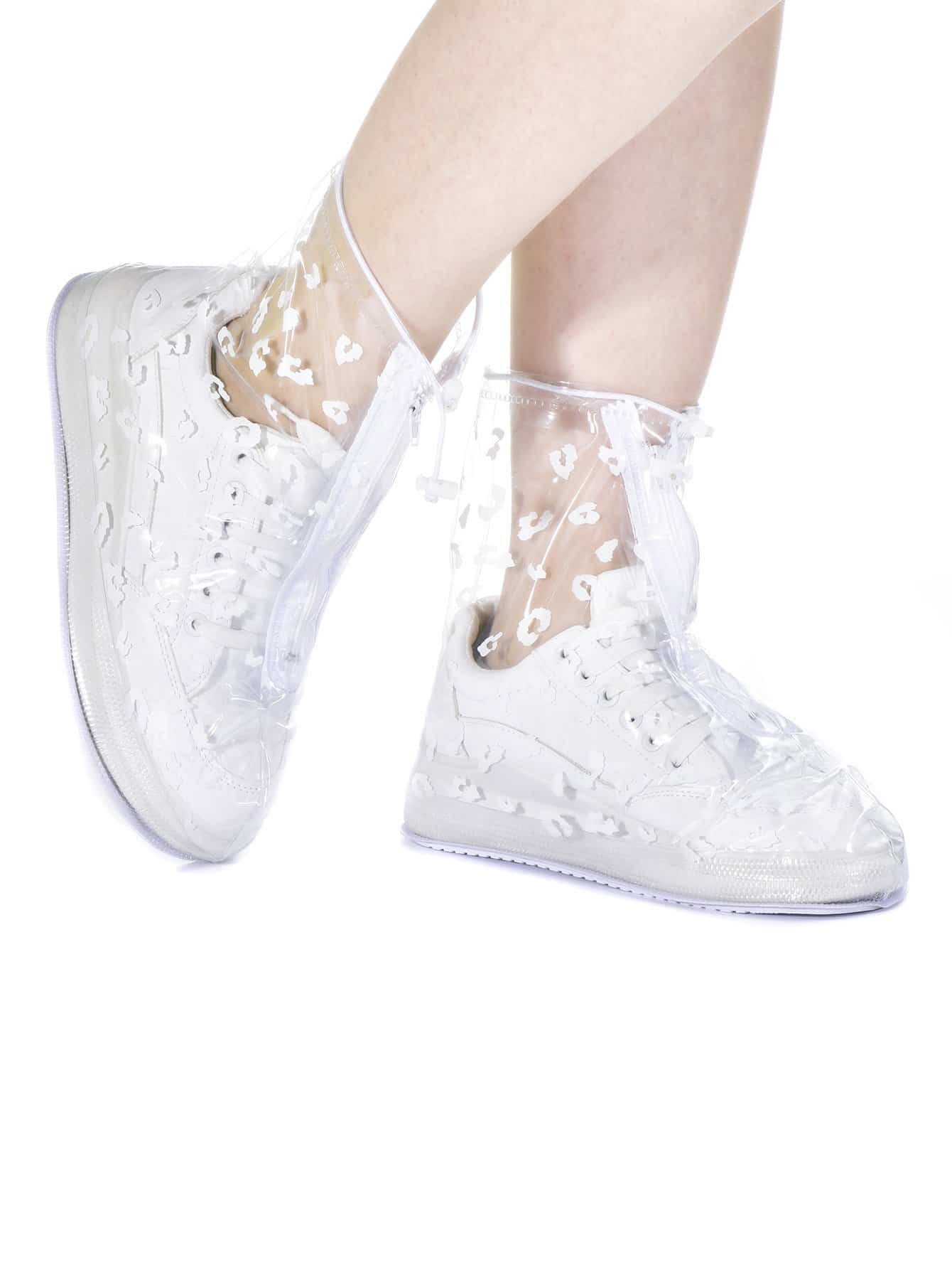 Imprimé Floral Chaussures Imperméables Couverture