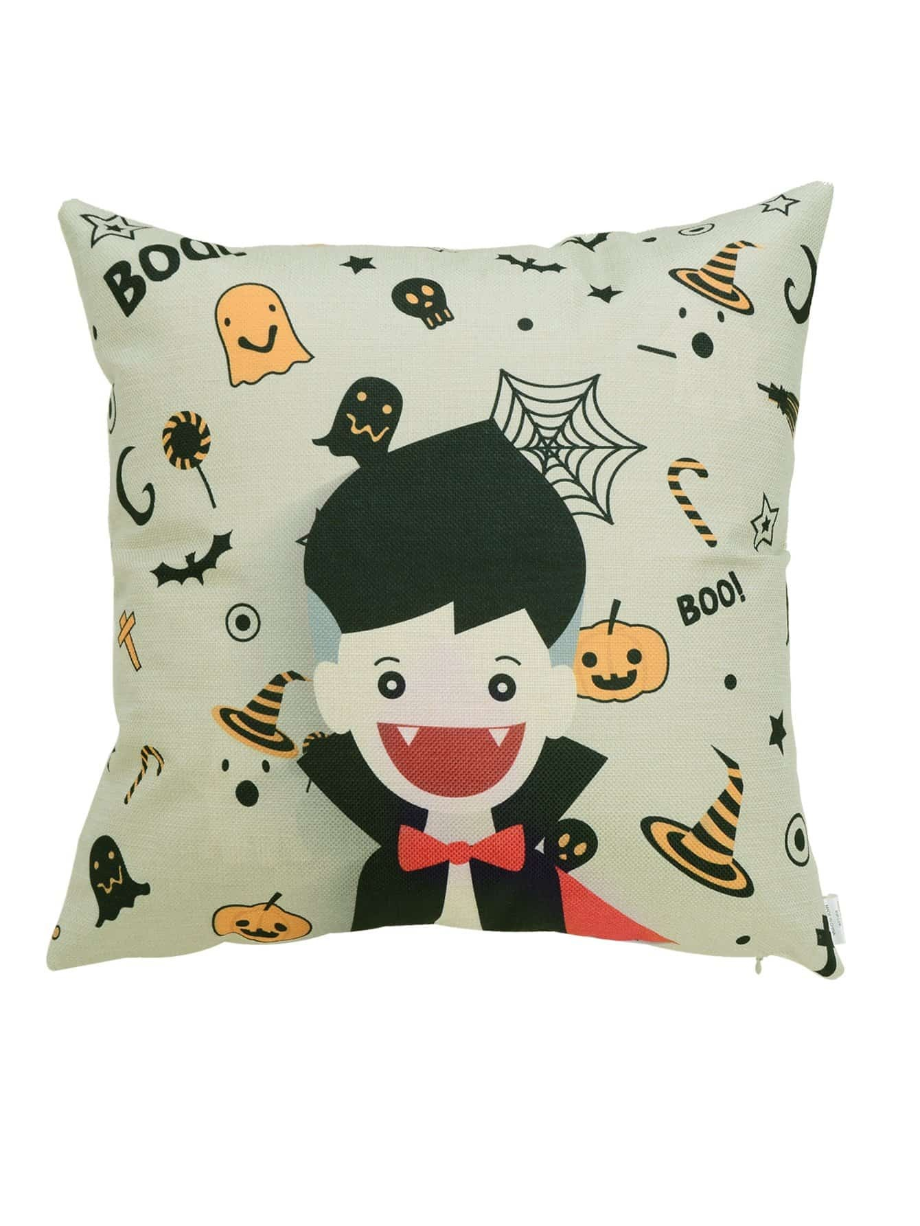Figure Pattern Halloween Pillowcase