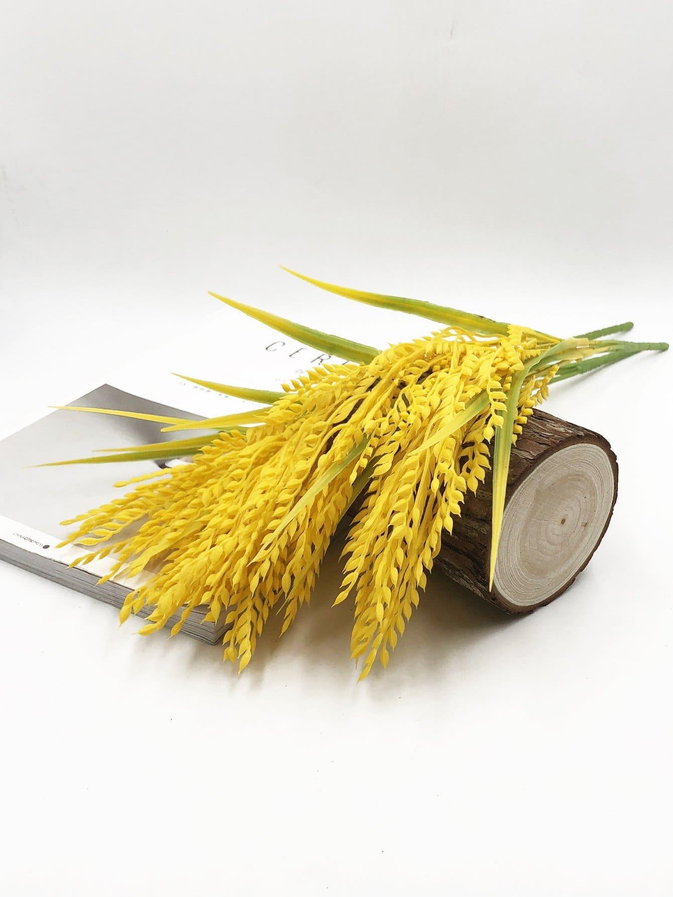 Купить Искусственный пакетик для ушей пшеницы с веткой 5шт., null, SheIn