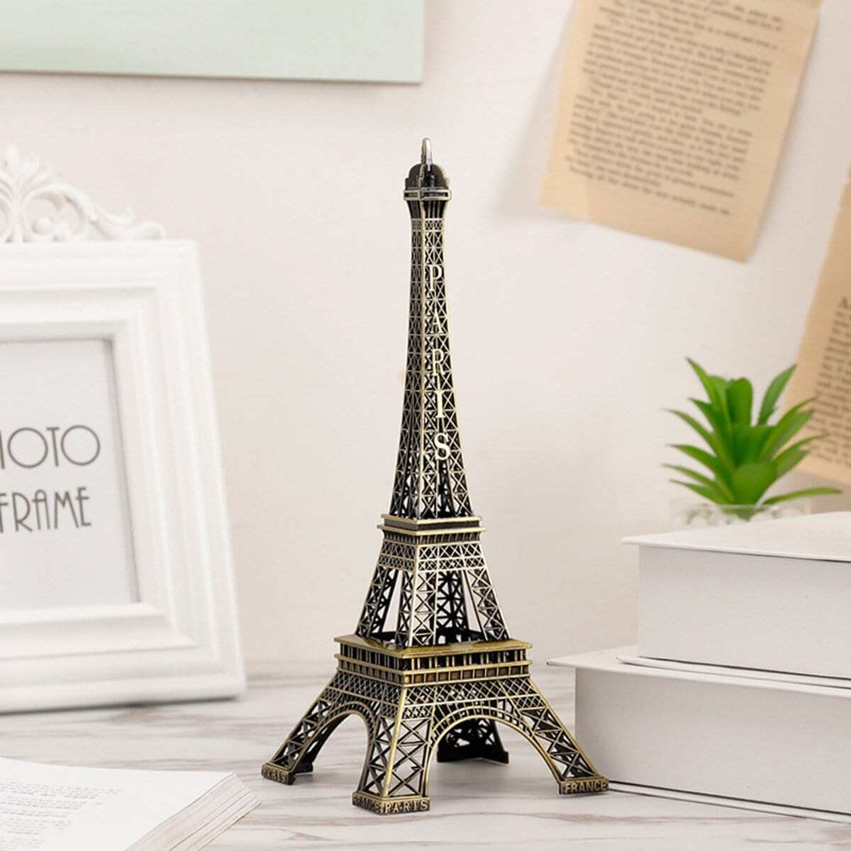 Eiffel Handdoekdecoratie
