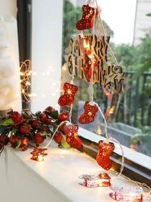 Christmas | String | Light | Sock