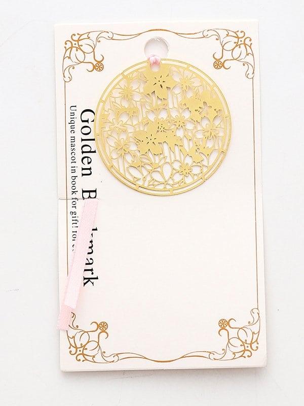 Купить Закладка с украшением круглых ажурного цвета, null, SheIn