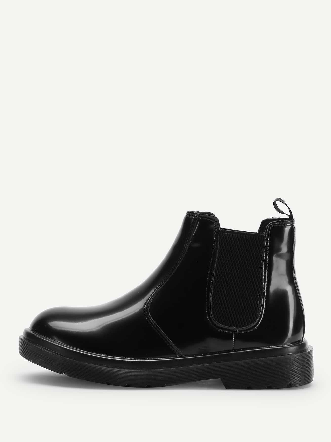 Plain Chelsea Boots