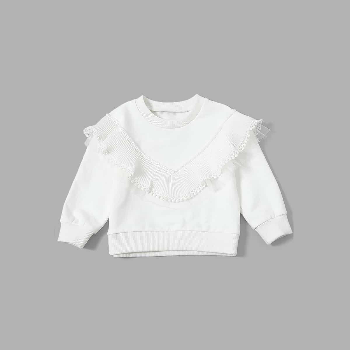 Sweatshirt met pompons