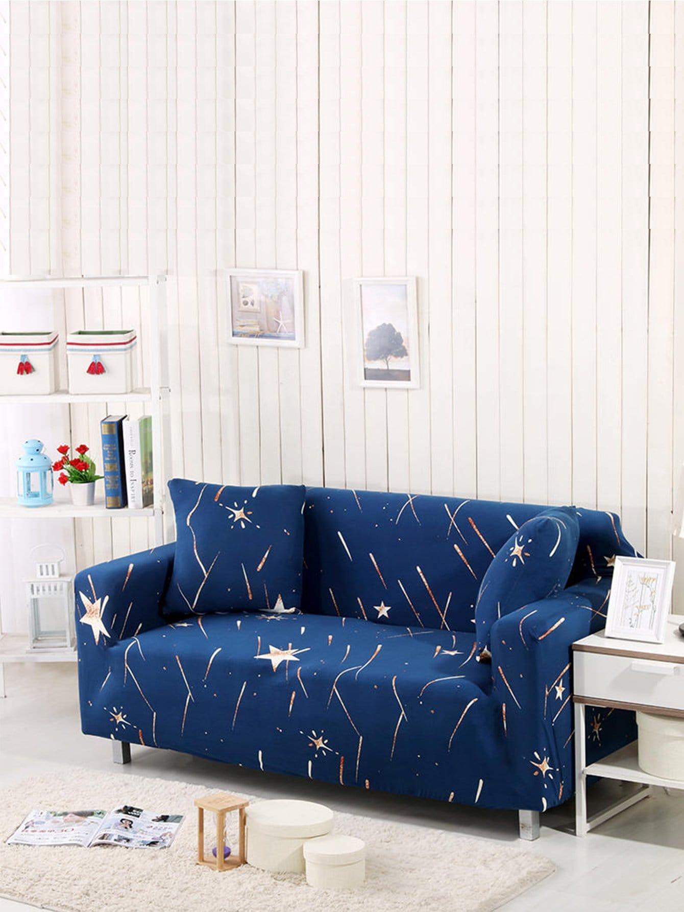 Купить Звезда печати эластичные диван Обложка & Подушка обложка 1шт, null, SheIn