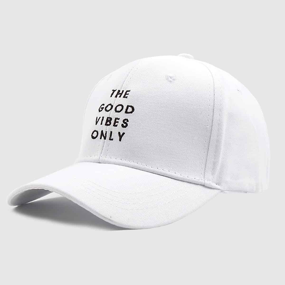 Для мужчин бейсбол кепки с вышитой буквой от SHEIN