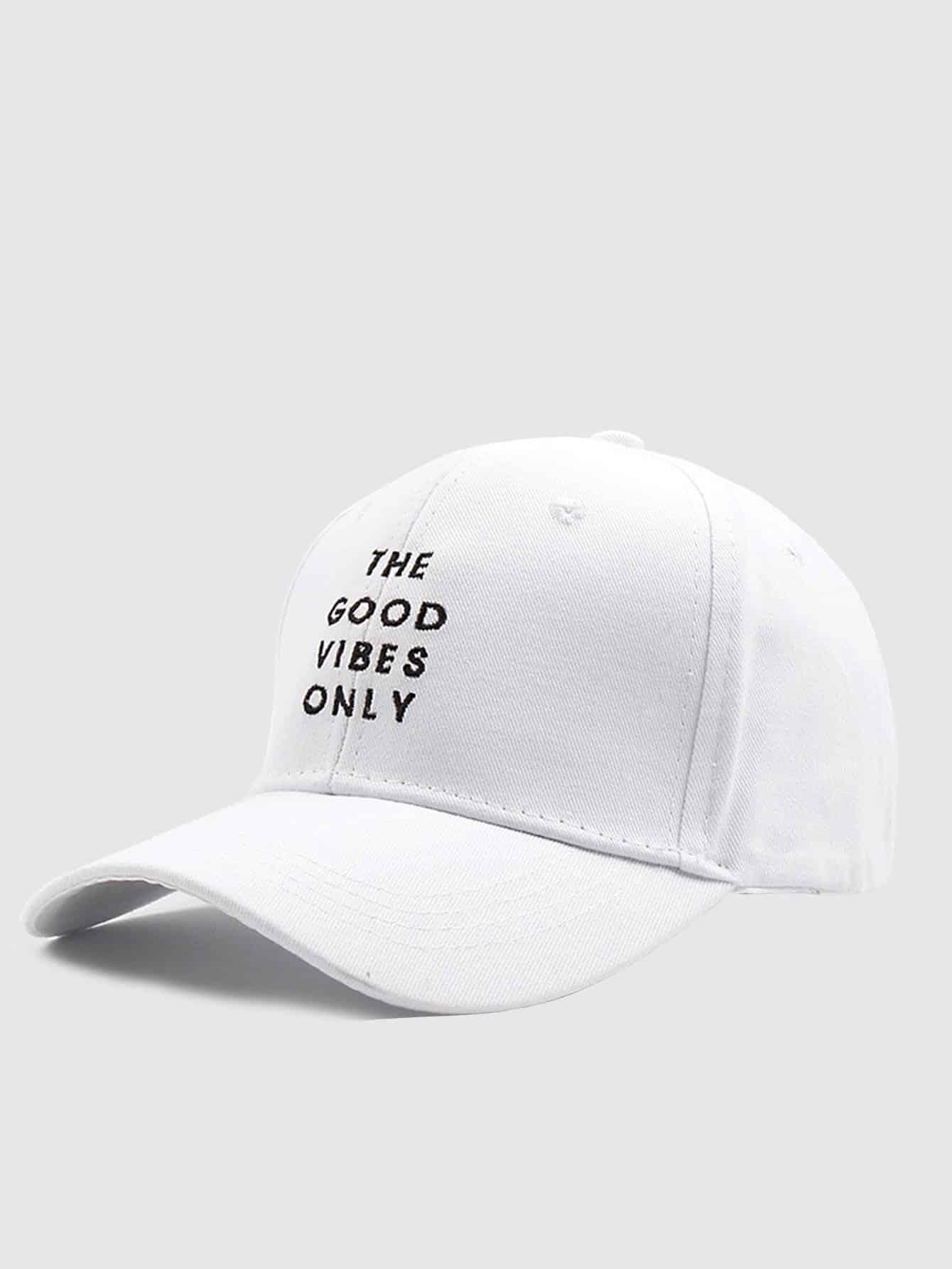 Купить Для мужчин бейсбол кепки с вышитой буквой, null, SheIn