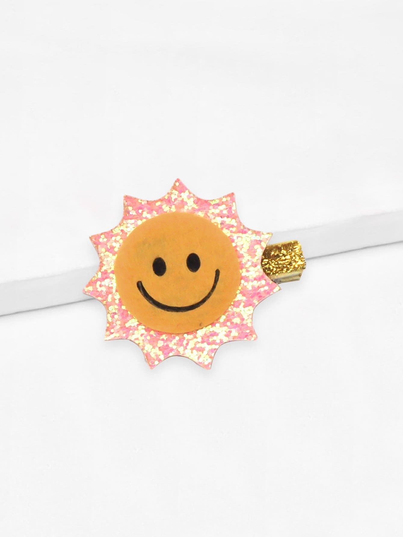 Girls Sun Shaped Hair Clip 1pc