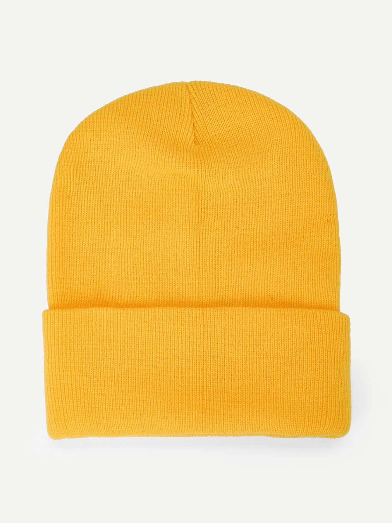 9e1a1988 Plain Beanie Hat