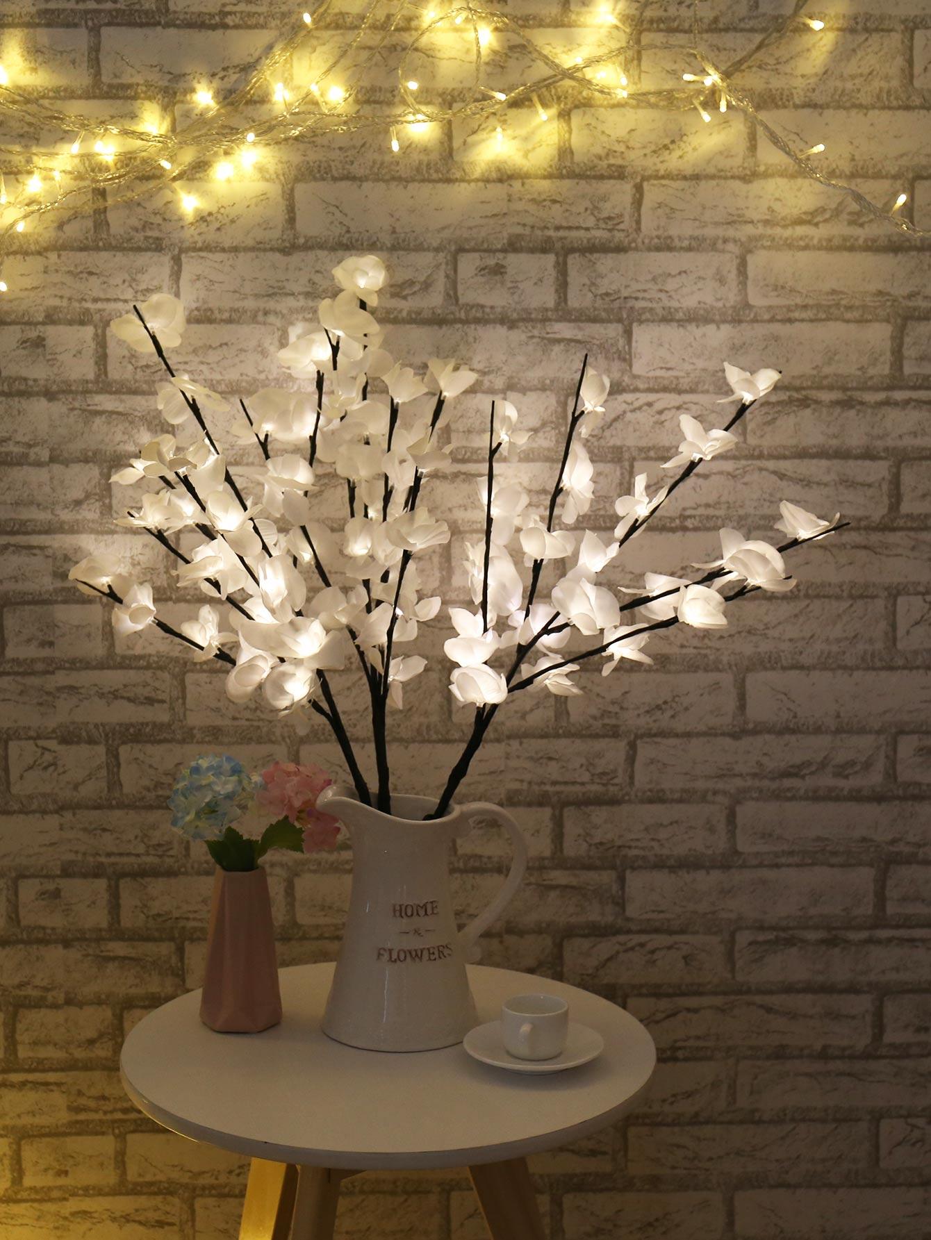 1pc Branch Light With 24pcs Bulb 4.5V