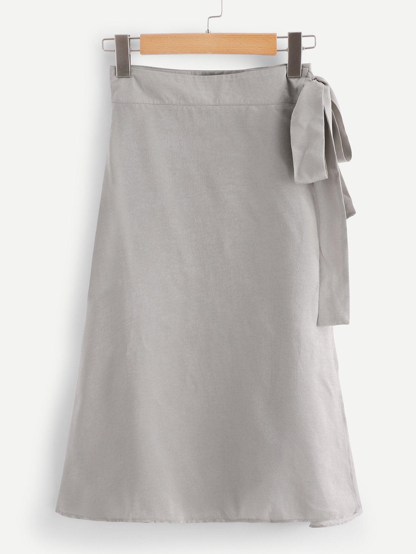 Купить Толстая юбка с широкой талией, null, SheIn