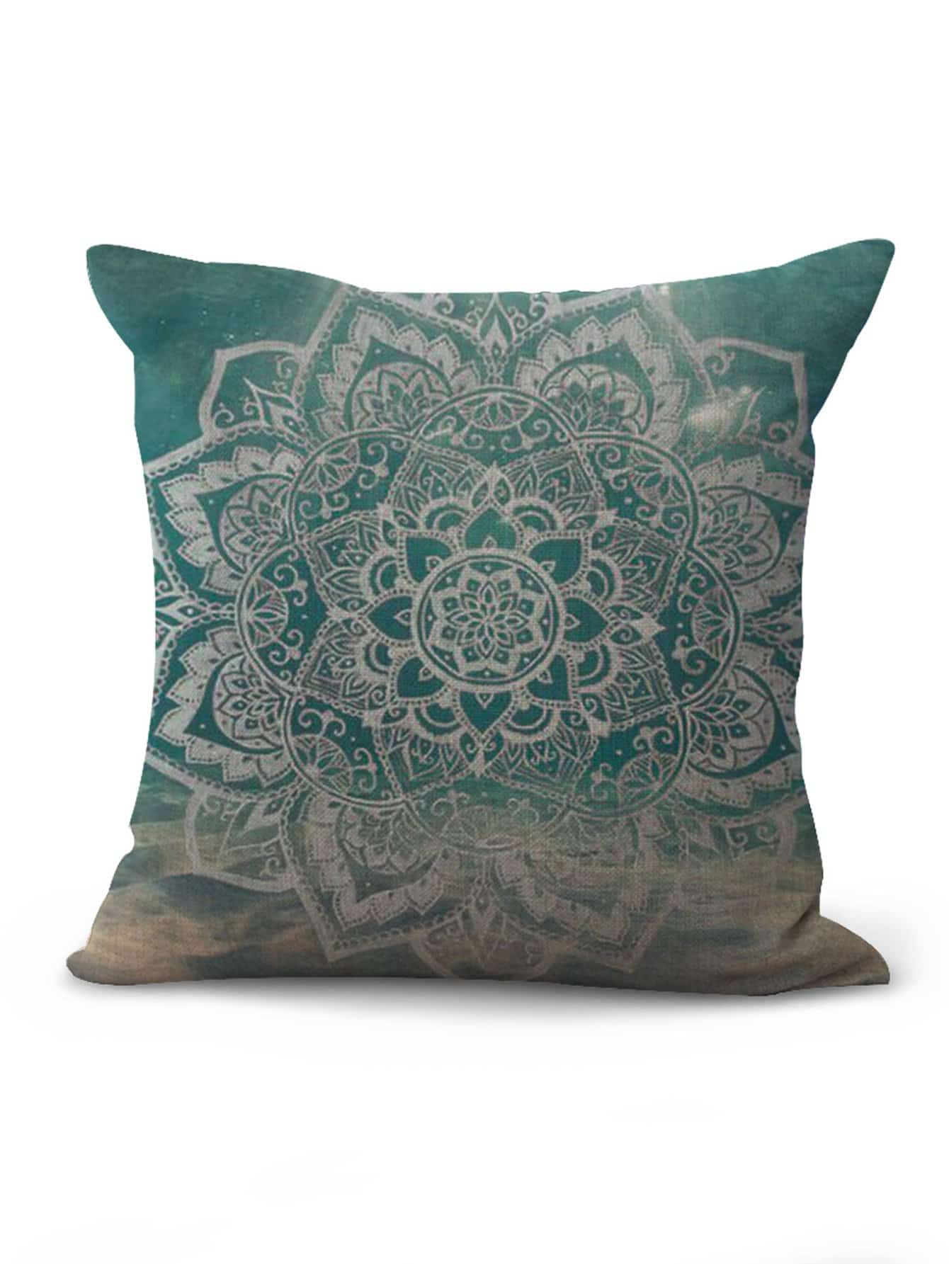 Lotus Pattern Cushion Cover