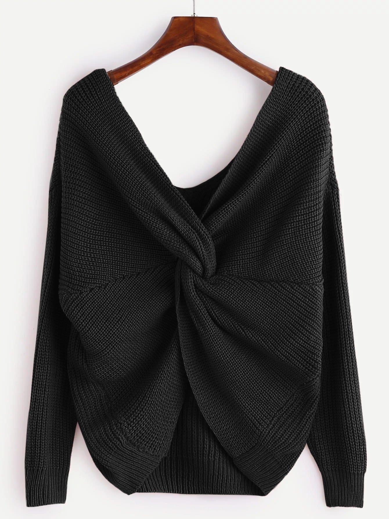 Plus Twist Detail Sweater