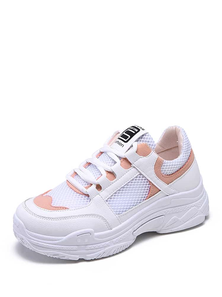 Lacets Semelle Chunky Sneakers