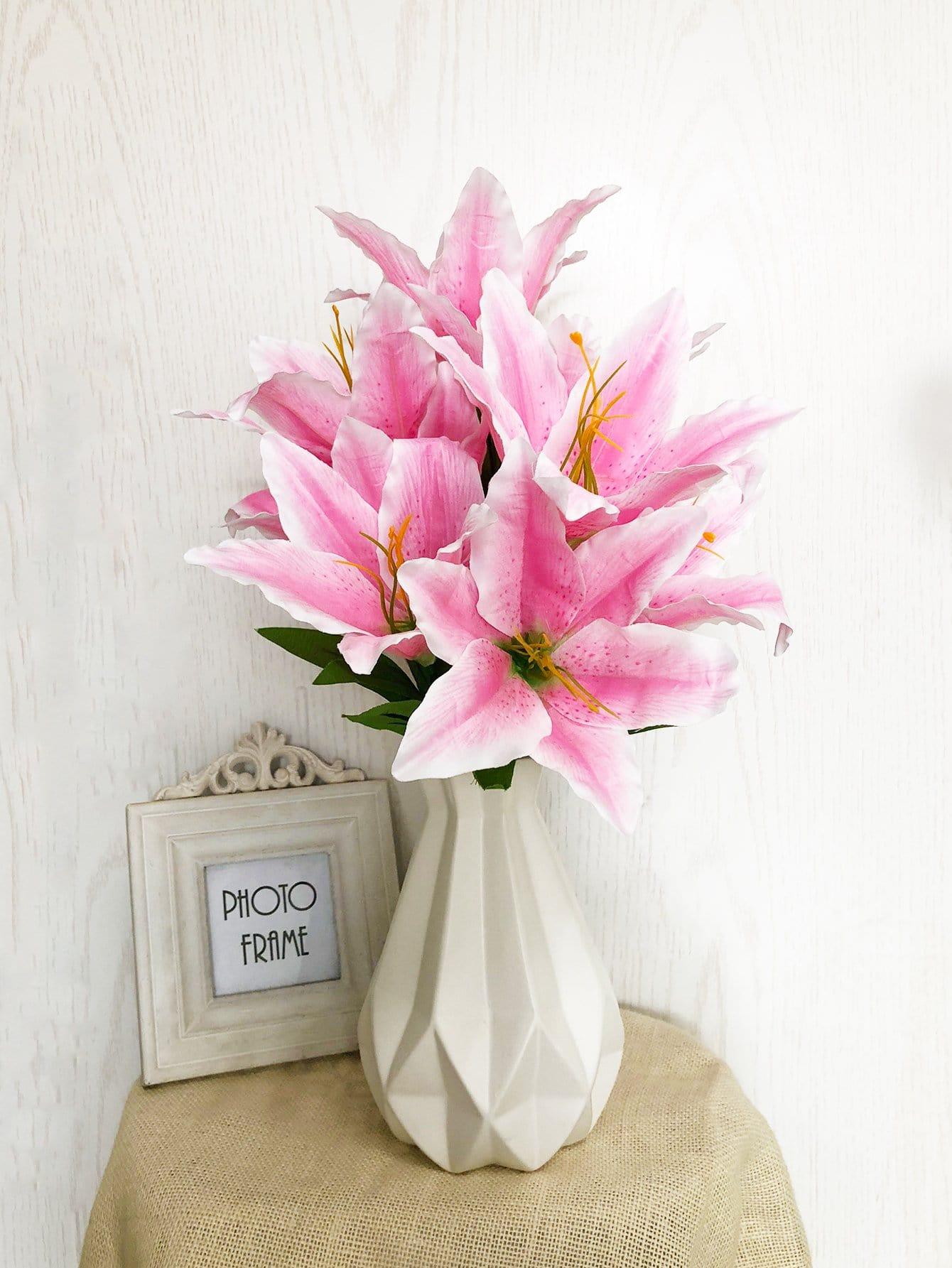 Купить Искусственный букет цветов с веткой 10шт., null, SheIn