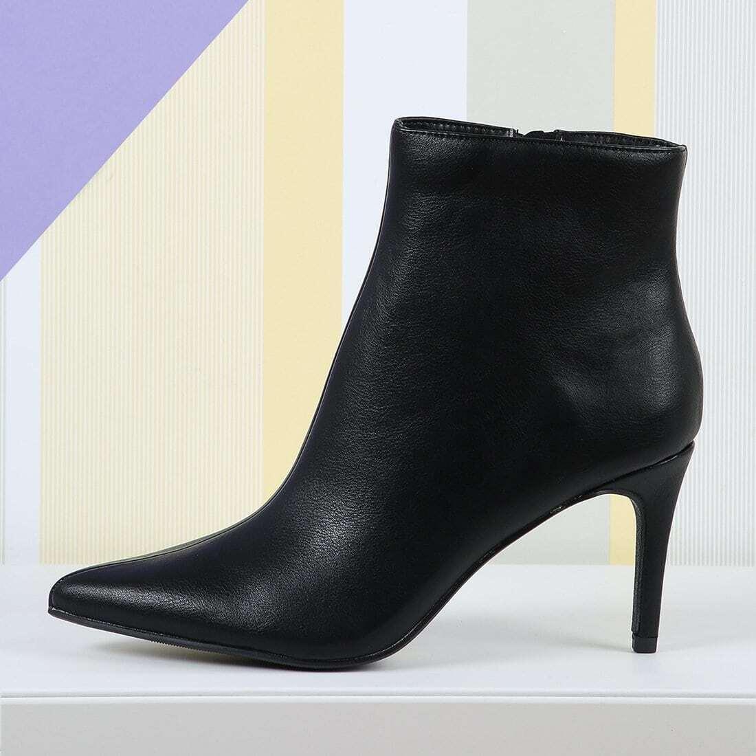 Zwart Business casual  Laarzen