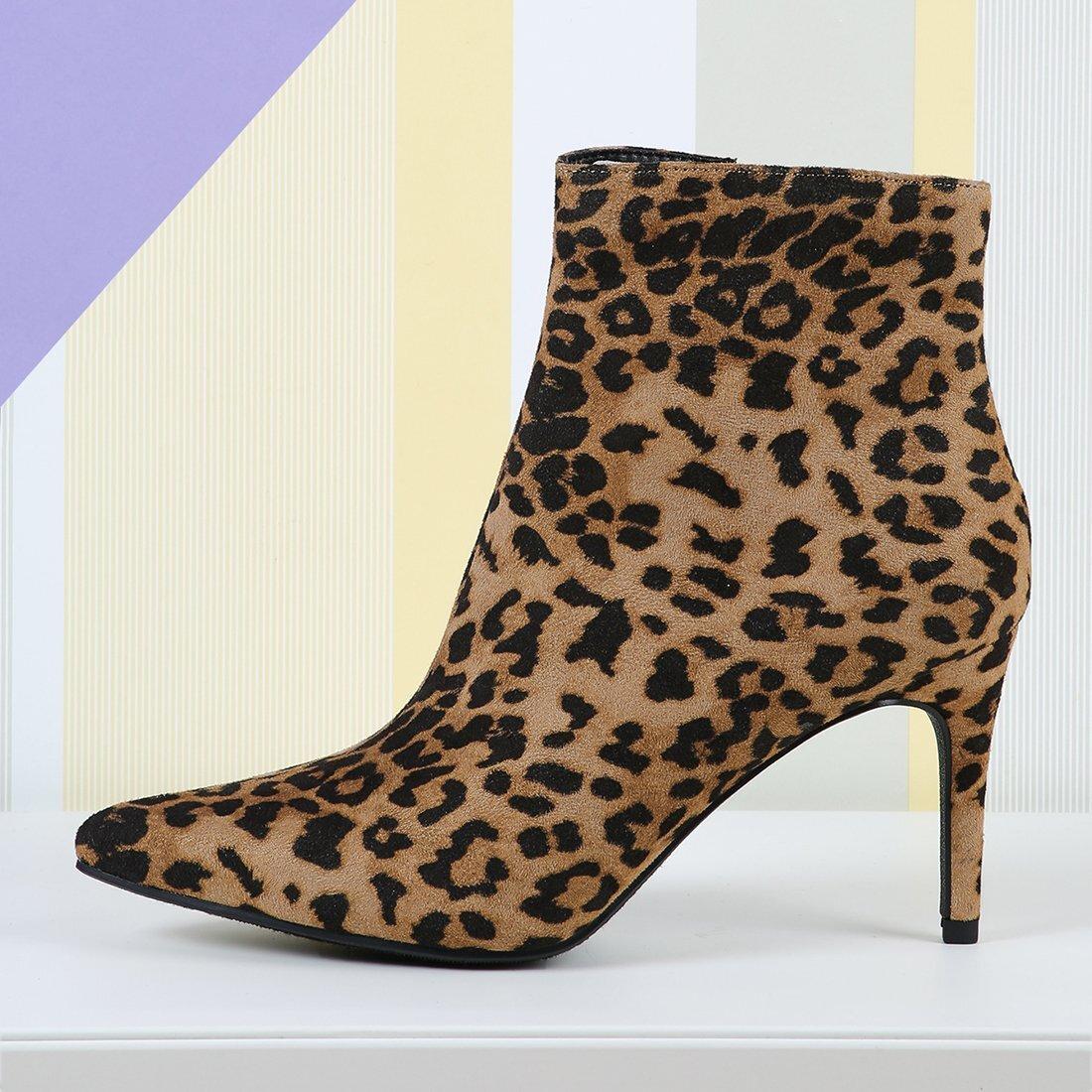 Veel kleurig Feest Luipaard Laarzen