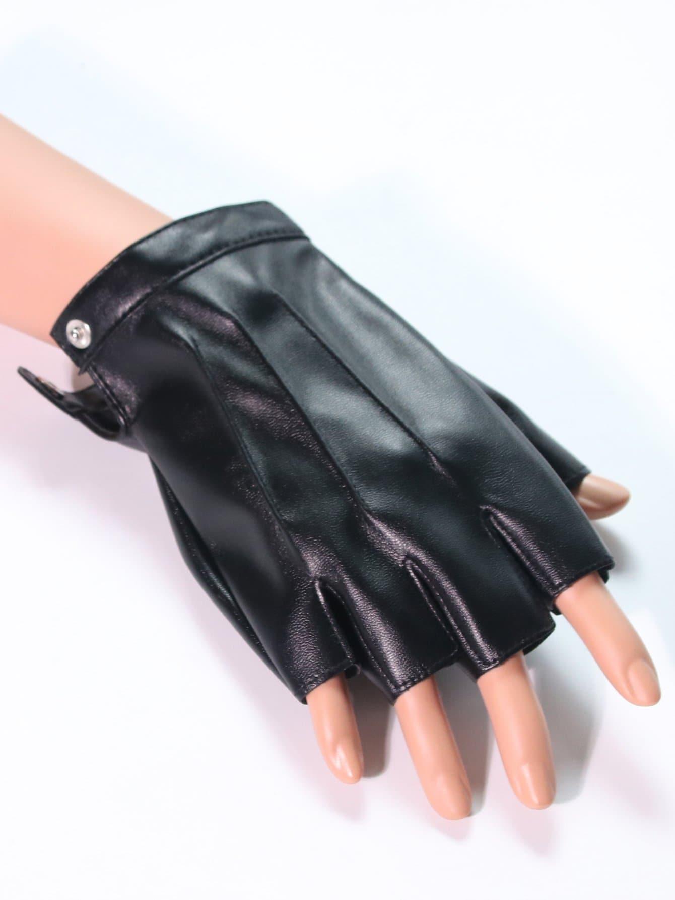 Мужчины Половины Пальцев Перчатки