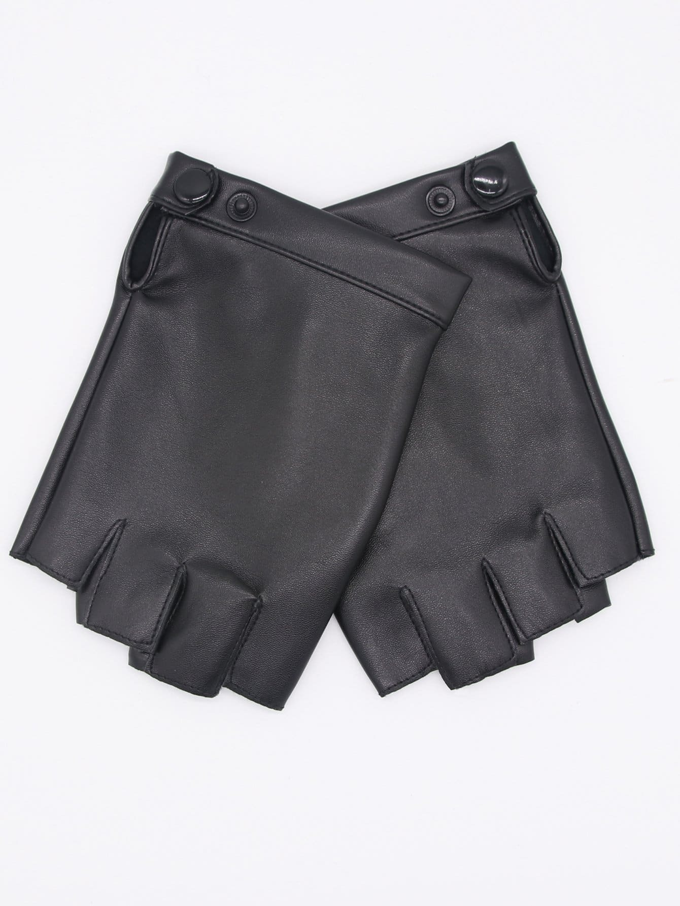 Мужчины Пряжки Перчатки Половина Finger