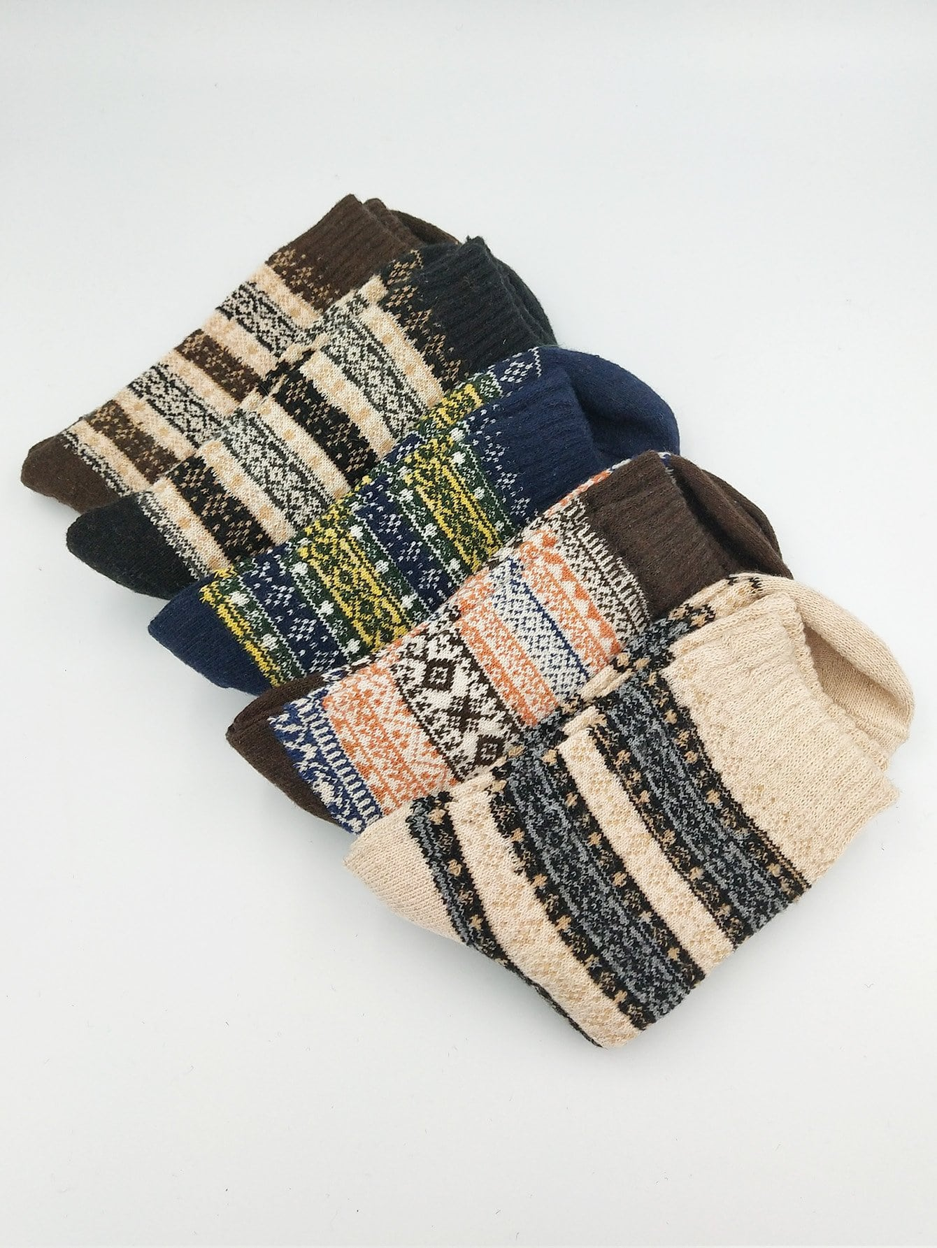 Männer Socken 5Paare mit Stamm Muster