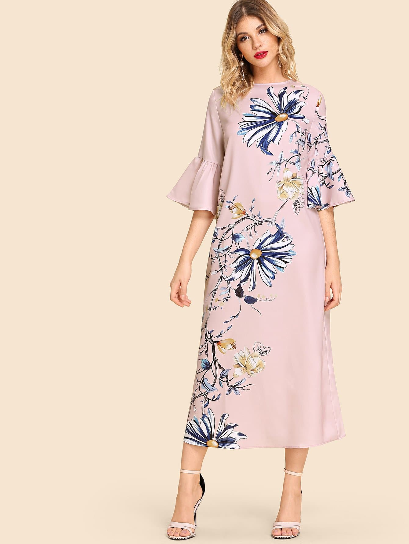 Купить Платье для печати втулки из трусика, Nathane, SheIn
