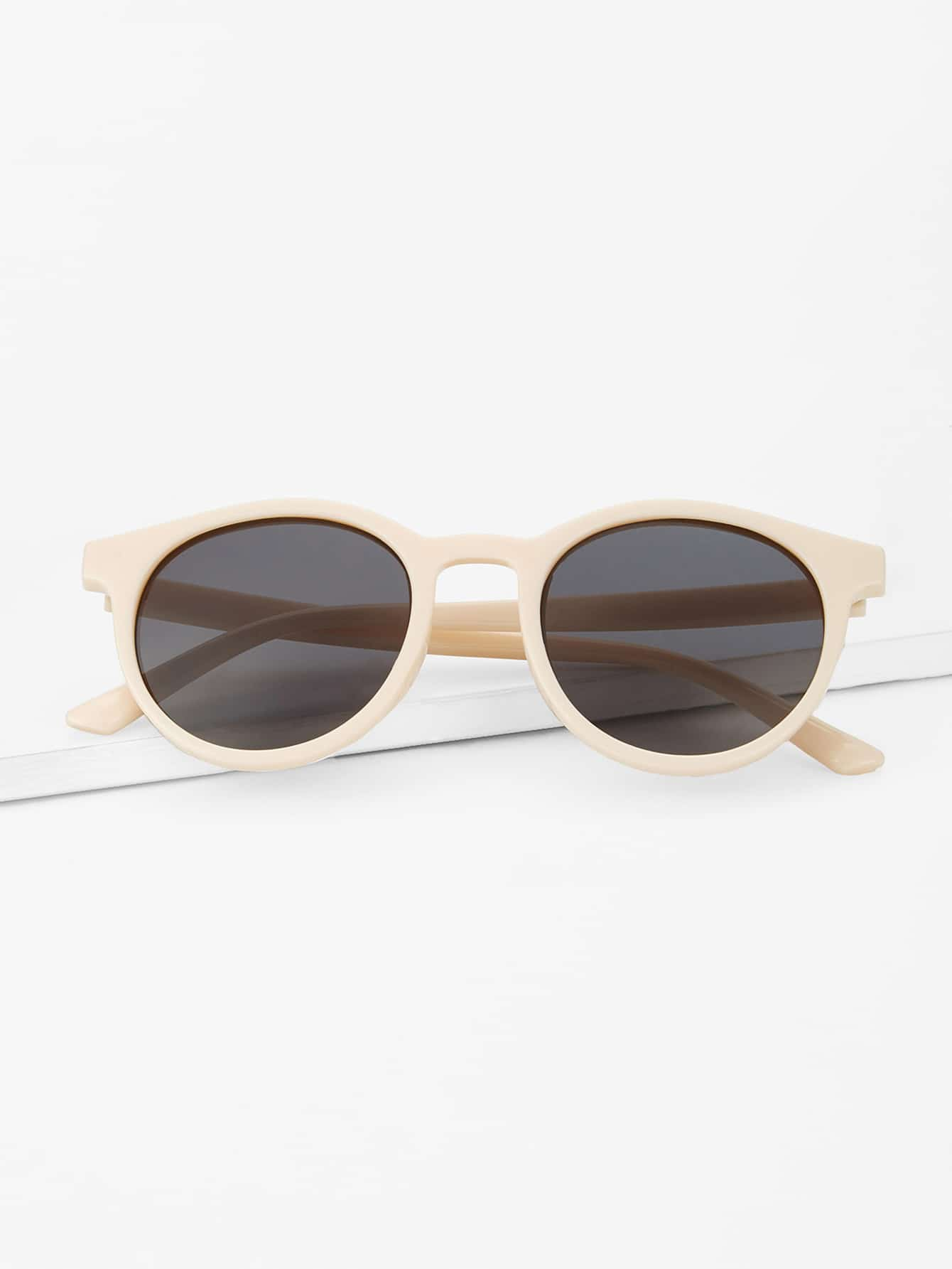 Купить Солнцезащитные очки с простыми оправами, null, SheIn