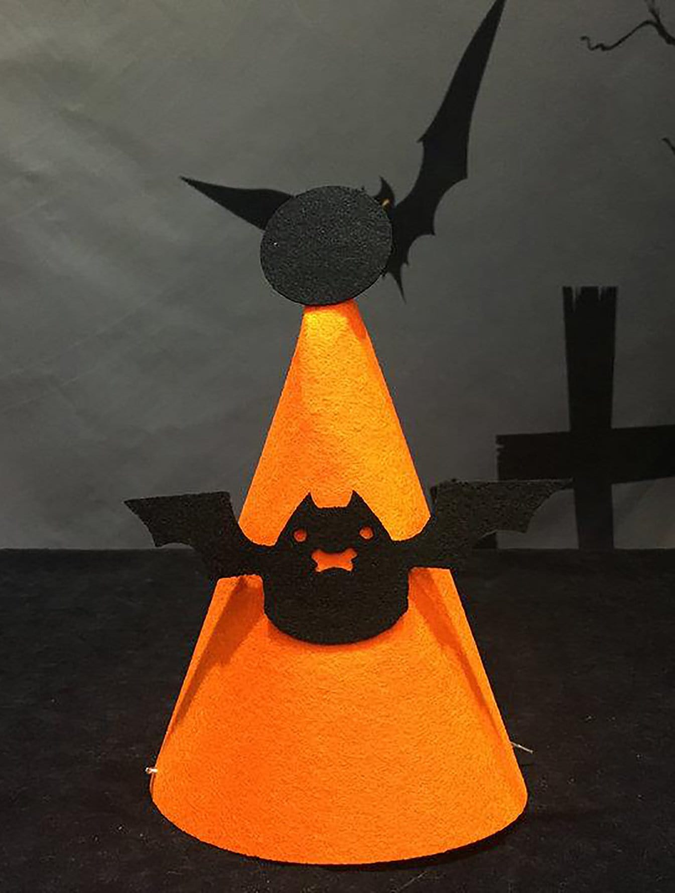 Купить Хэллоуин Бат Декор шляпа, null, SheIn