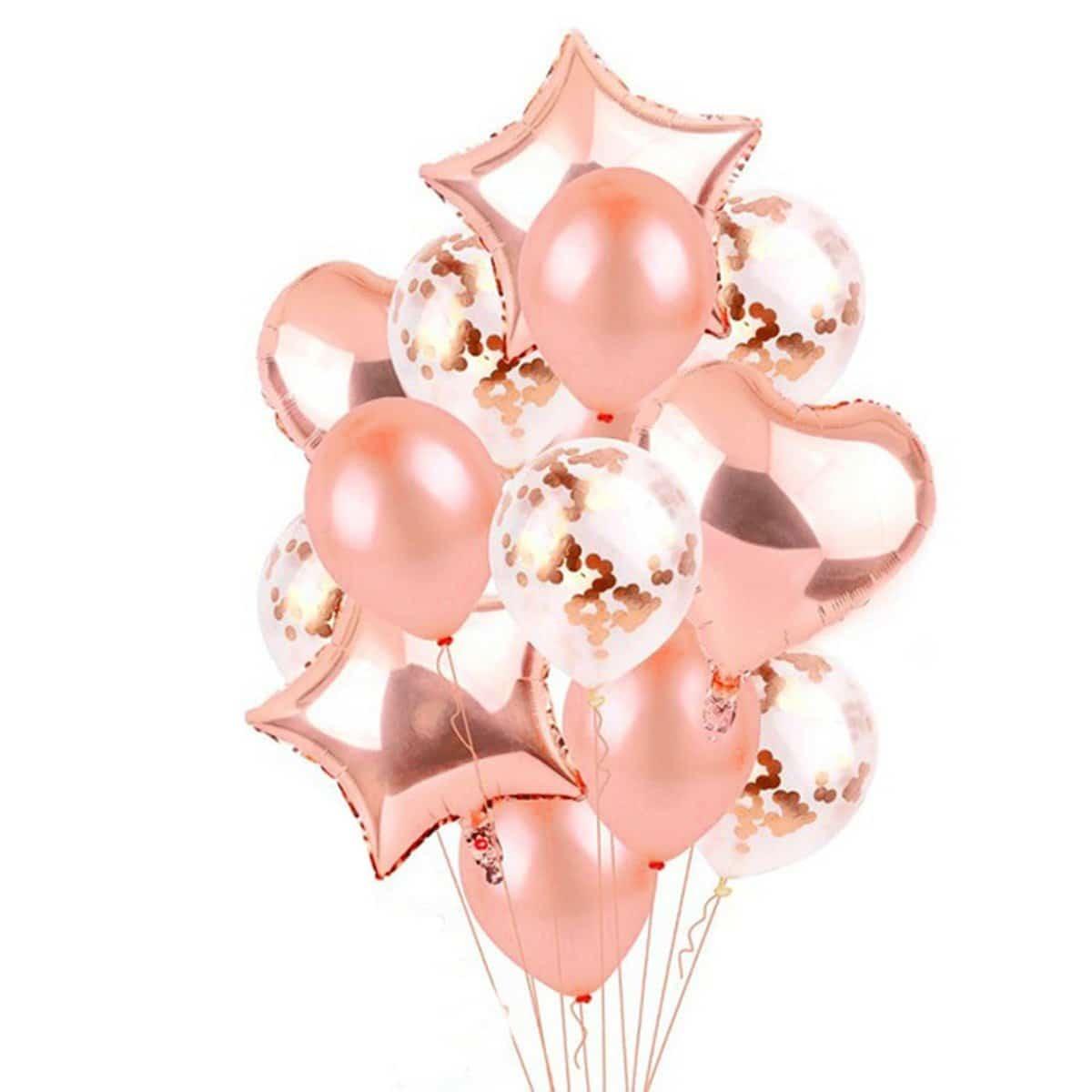 Balonnen set 14 stuks