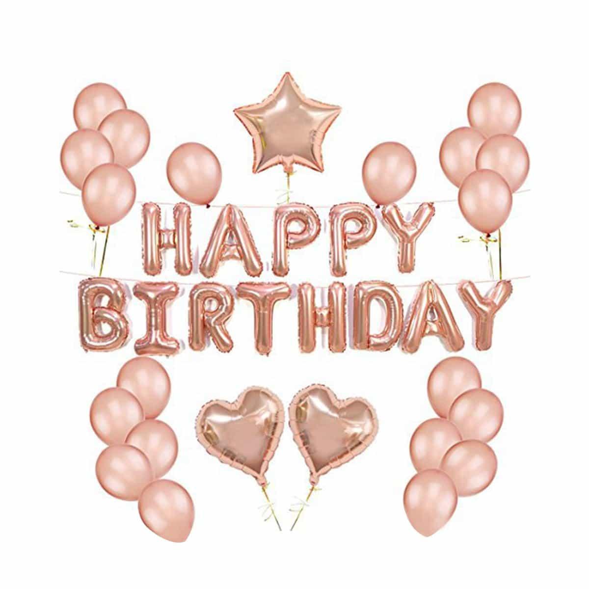 Happy Birthday set 25 delen