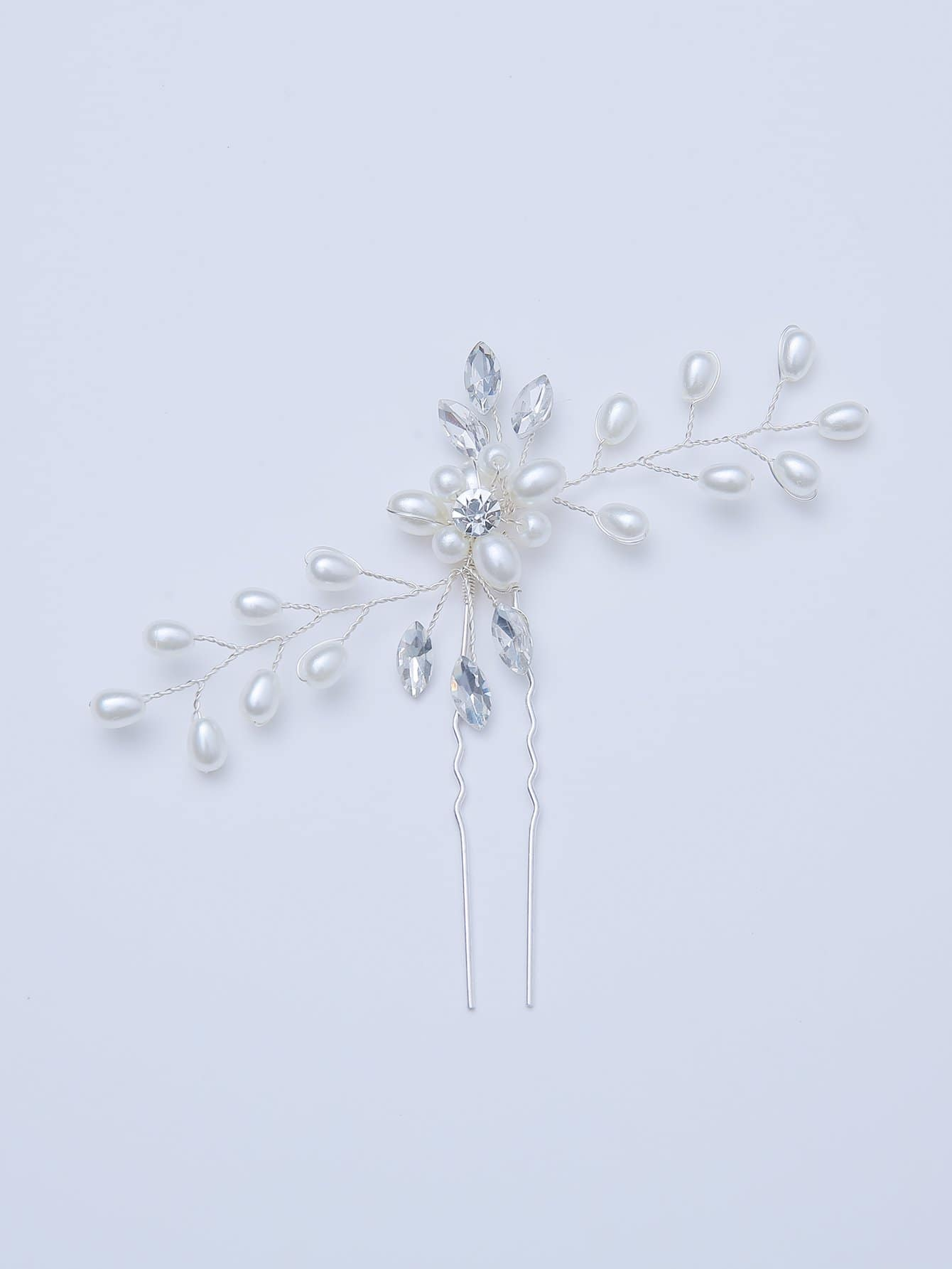 Faux Pearl Statement Hair Pin