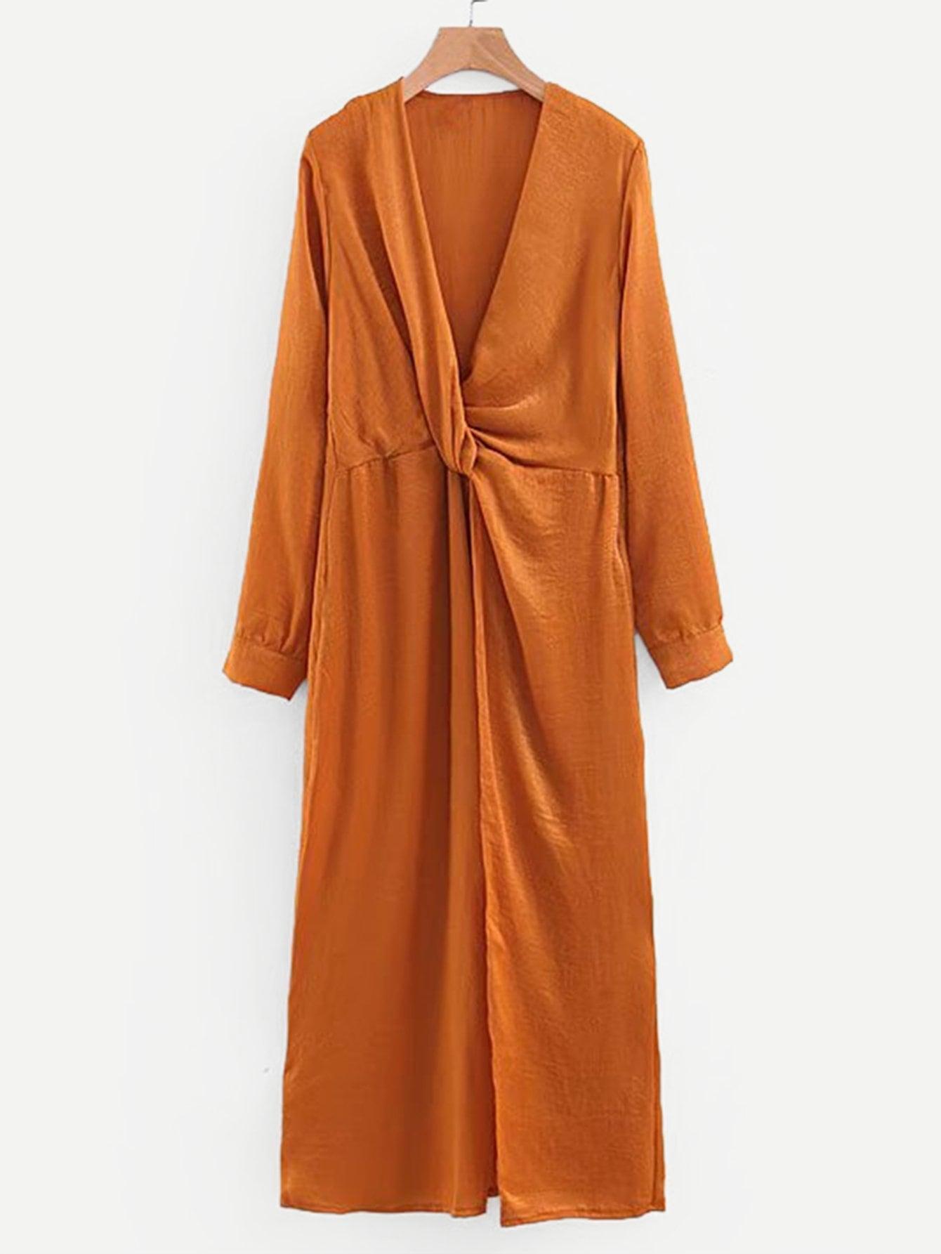 Купить Платье из твида с вырезом, null, SheIn