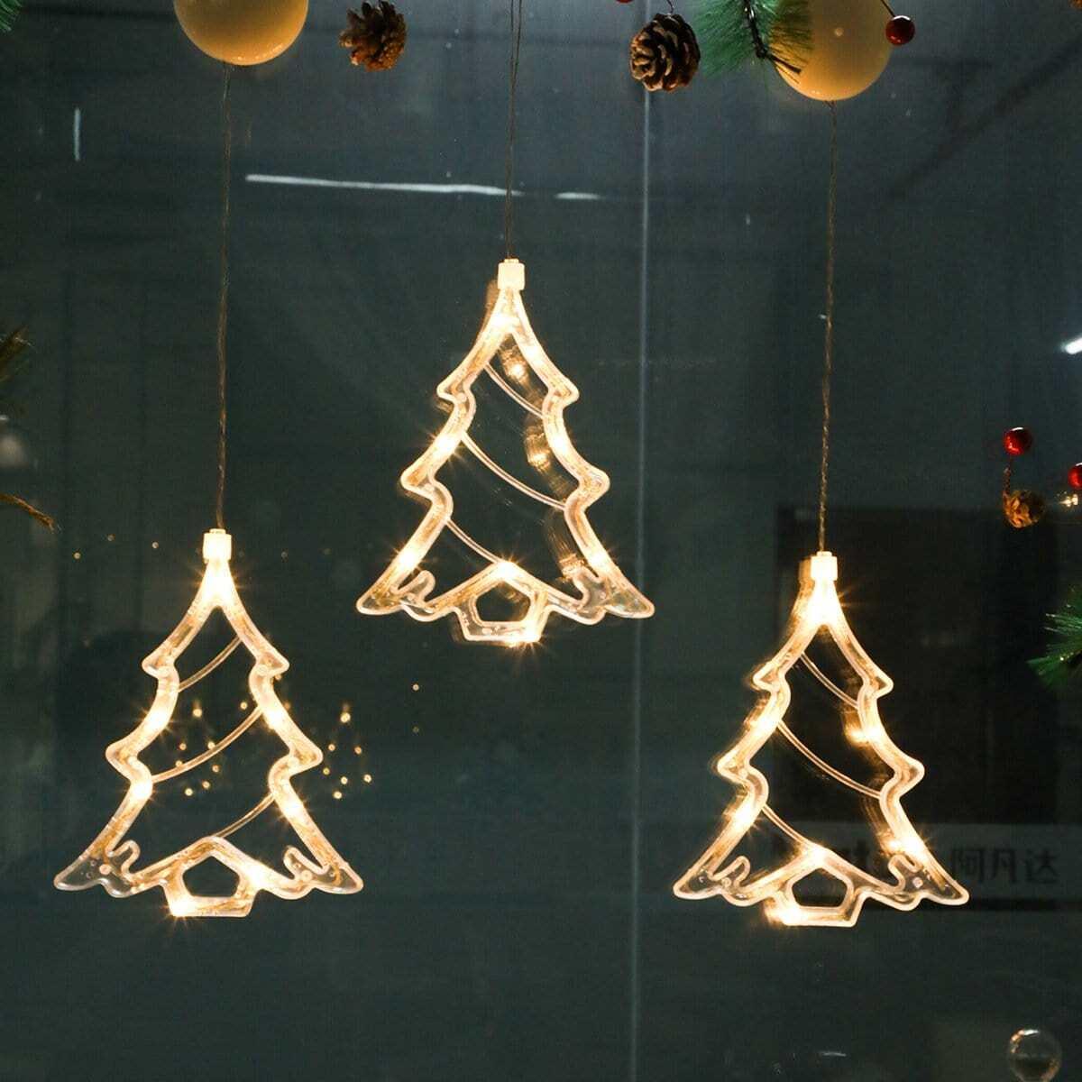 Kerstboomvormige lamp 12V 1 st