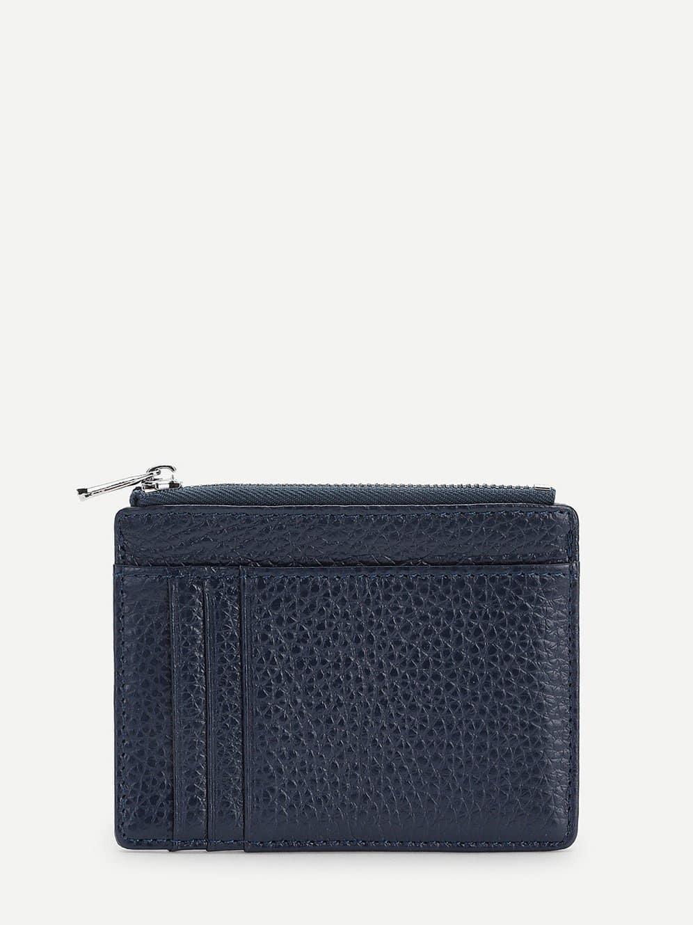 Купить Тёмно синий Мужские барсетки и бумажники, null, SheIn
