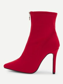 Red Glamorous Sock Boots Boots, size features are:Bust: ,Length: ,Sleeve Length: