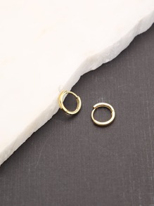 Earring   Hoop   Gold   Mini